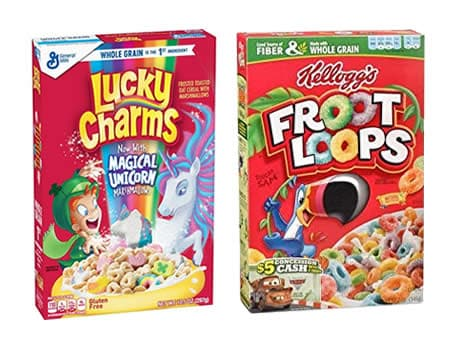 Gigi Hadid's favorite cereals