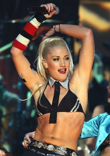 Gwen Stefani doing the move
