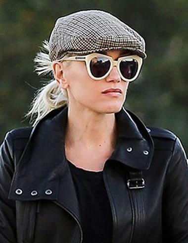 Gwen Stefani look like Sherlock Holmes