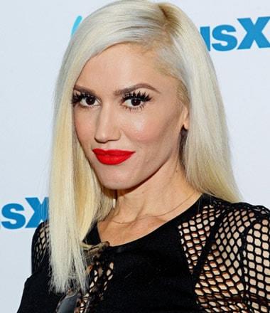 Gwen Stefani with makeup