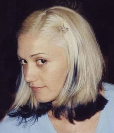 Gwen Stefan when she's young and makeup-free