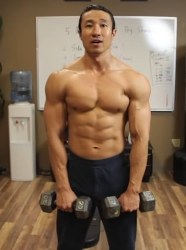 Mike Chang Front Raises - Step 1