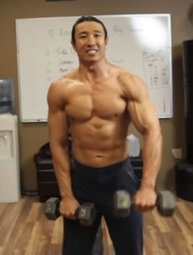 Mike Chang Front Raises - Step 3