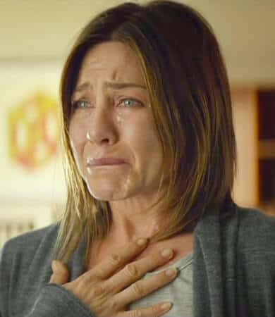 Crying Jennifer Aniston