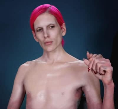 Jeffree Star hiding his tattoos