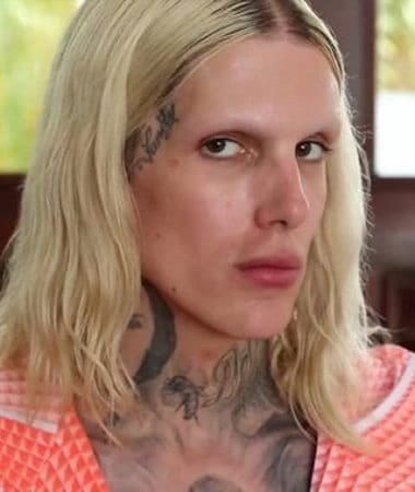 Jeffree Star no eyebrows