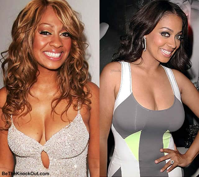Did Lala Anthony get a boob job?