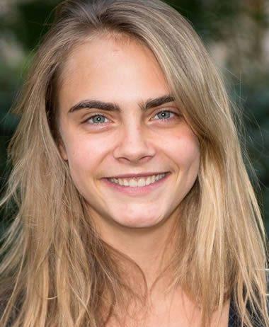 Cara Delevingne is not a natural blonde