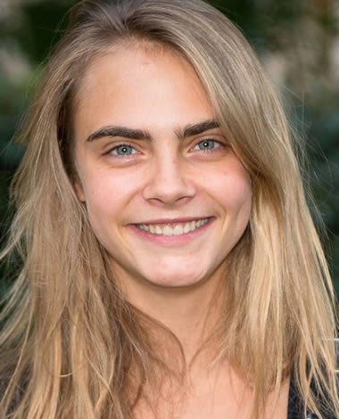 Cara Delevingne is not a natural blonde