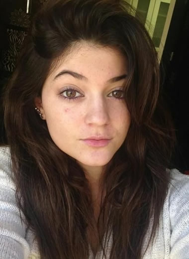 Kylie Jenner magical face shape
