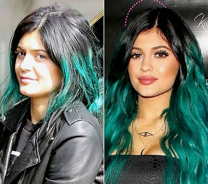 Kylie Jenner what the green