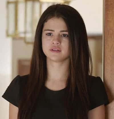 Selena Gomez about to cry