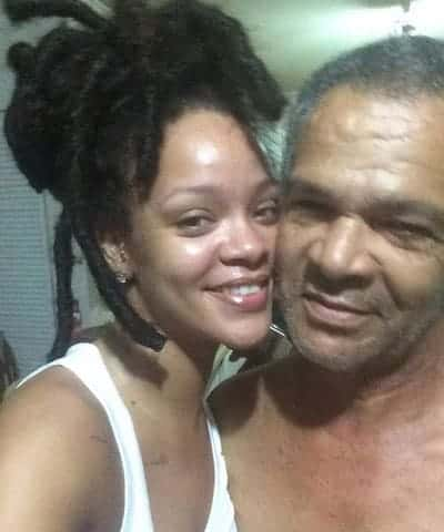 Rihanna used to be a daddy's girl