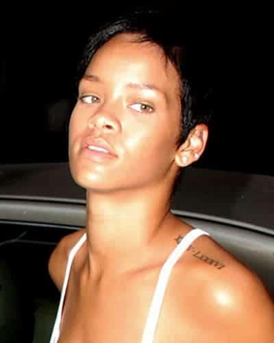 Rihanna has the smoothest skin