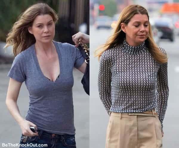Has Ellen Pompeo had a boob job?