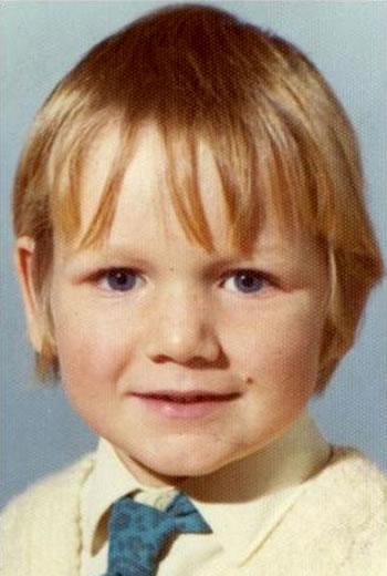 Gordon Ramsay at 4 years old