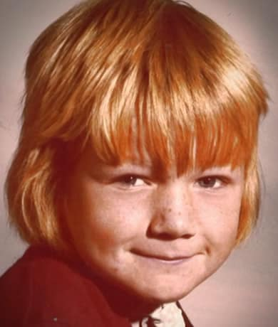 Gordon Ramsay with orange hair?