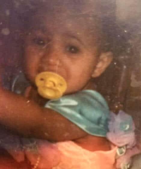 Baby Cardi B likes her yellow dummy