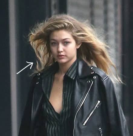 Gigi Hadid Leather Street Fashion