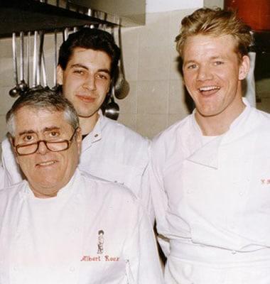 Gordon Ramsay still learning his culinary skills