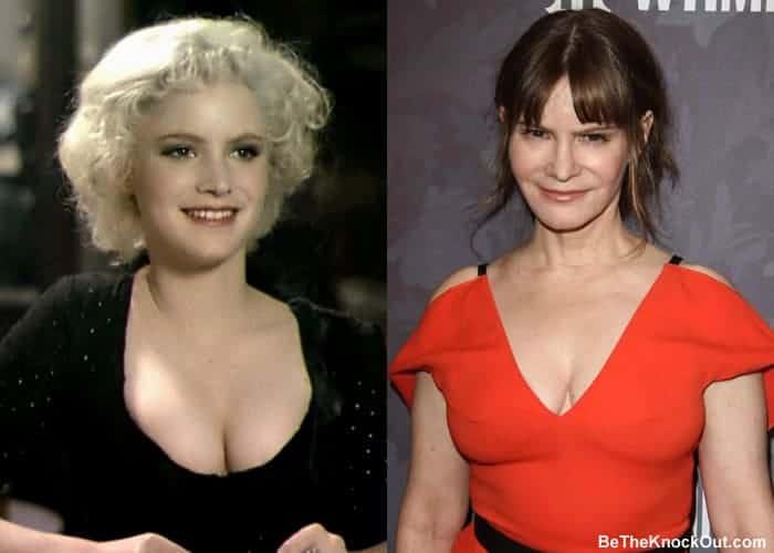Did Jennifer Jason Leigh get a boob job?