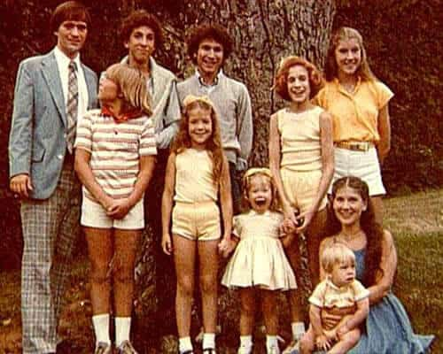 Throwback Sarah Jessica Parker family photo