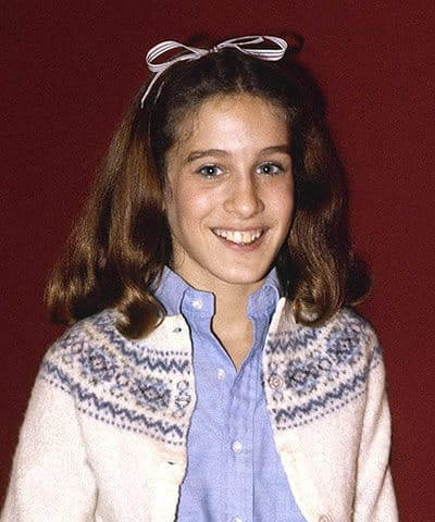 Sarah Jessica Parker was a bright teenager