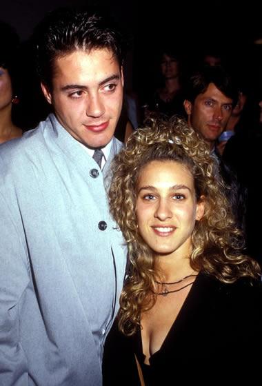 Sarah Jessica Parker with Robert Downey Jr