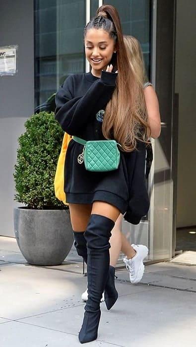 Ariana Grande never too black