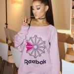 Ariana Grande victory goes to Reebok