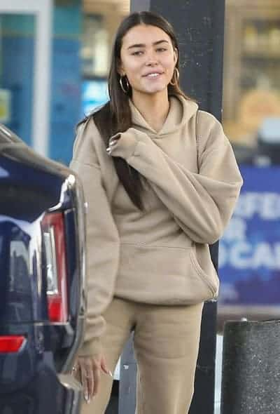 Madison Beer at the gas station