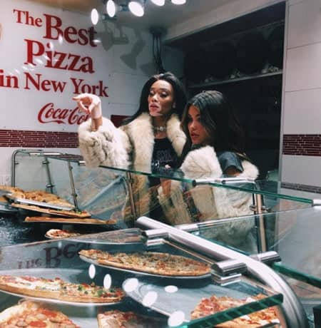 Madison Beer wants more pizza for dinner