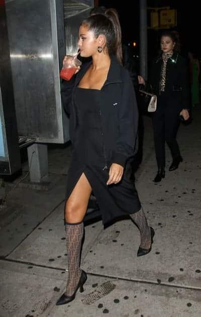 Selena Gomez juice give you nice legs?