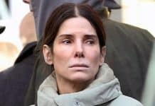Sandra Bullock showing no emotions in Vancouver