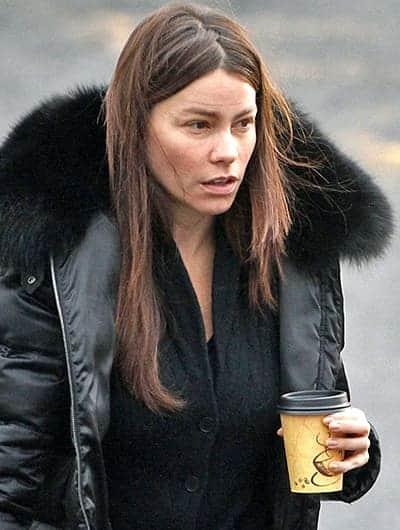 Sofia Vergara coffee before everything