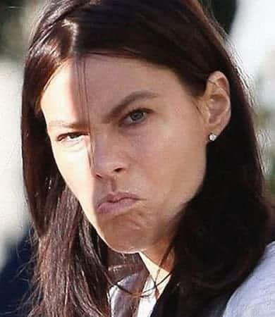 Sofia Vergara grumpy face