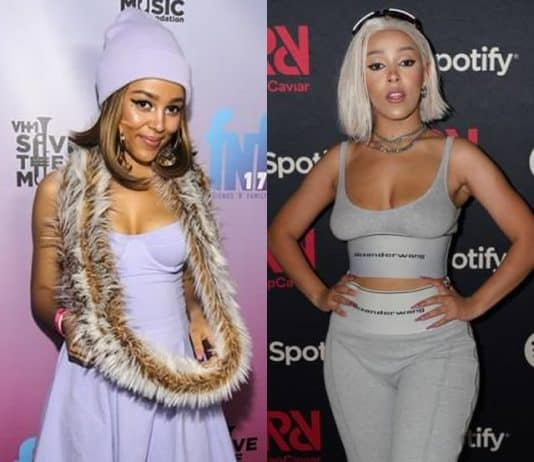 Has Doja Cat had a boob job?