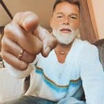 Ricky Martin's white beard looks kind of stylish