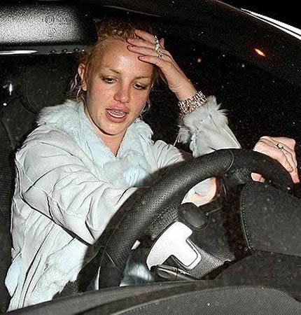 Britney Spears just wants to drive