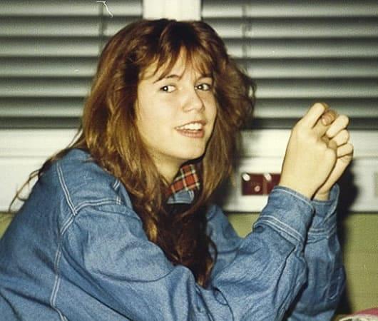 Heidi Klum looked awkward as a teenager