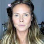Heidi Klum before her makeover