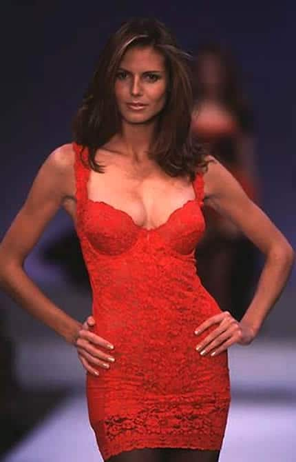 Heidi Klum was the first German model to become a Victoria's Secret Angel
