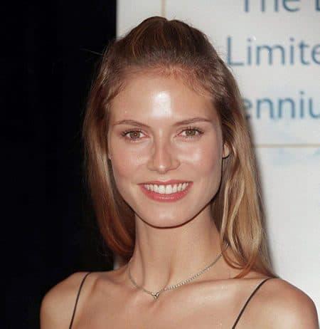 Heidi Klum has a timeless smile