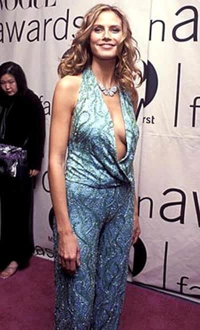 Heidi Klum worst outfit moment