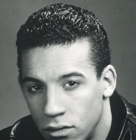 Vin Diesel with a lot of hair