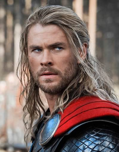 Chris Hemsworth is the handsome Thor