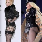 Madonna butt implants before and after comparison photos