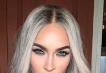 Megan Fox gray hair color